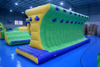 Outdoor Inflatable Floating Water Park Games Anti - UV Heat Resistance Material