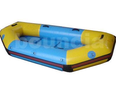 0.9mm PVC Tarpaulin Inflatable Rafting Boat For White Water