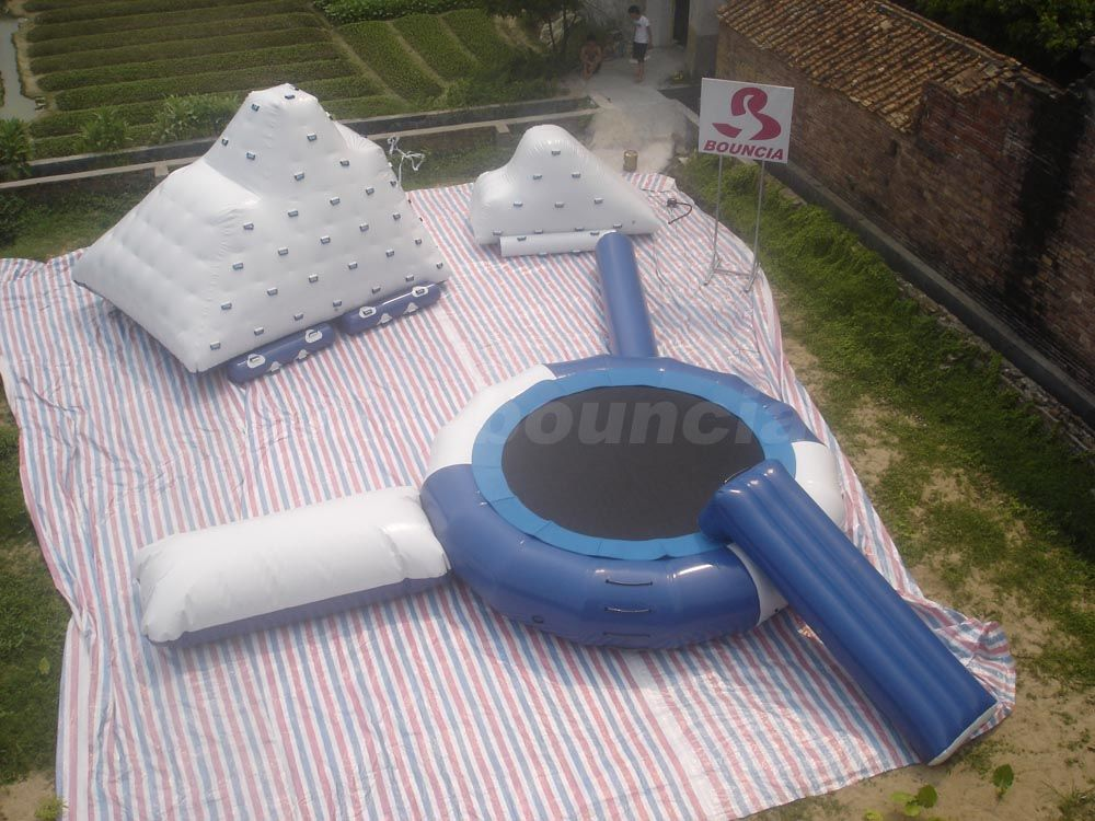 Inflatable Water Trampoline Made Of Durable PVC Tarpauline