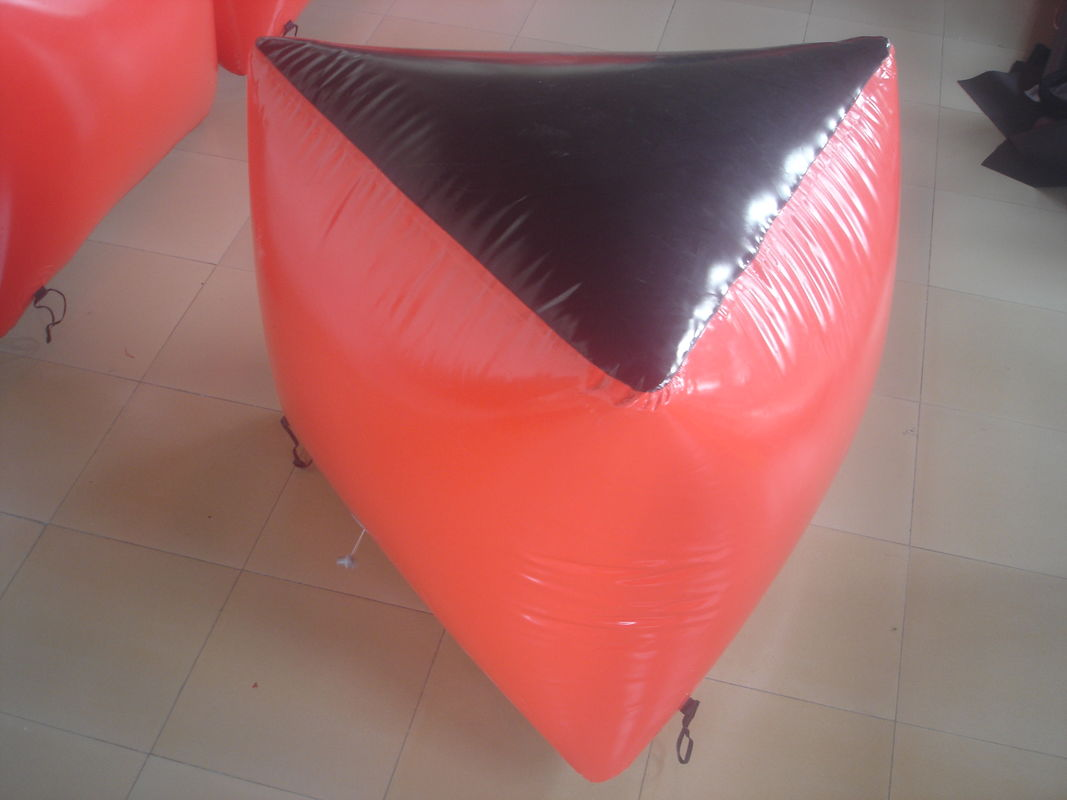 0.6mm PVC Tarpaulin Inflatable Paintball Bunker BUN03 for Paintball Sports