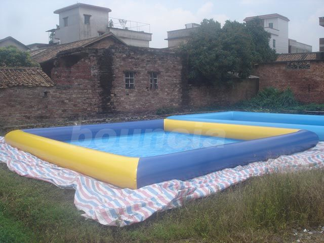 Water Walking Ball Inflatable Water Pool With 0.9mm PVC Tarpaulin