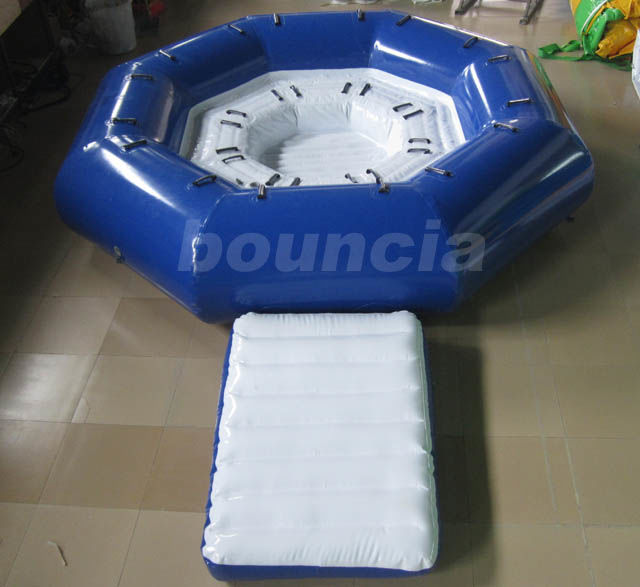 Inflatable Tow Tube Boat / Inflatable Towable Boat For Adults or Kids