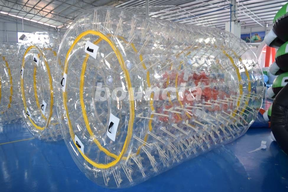 0.8mm/1.0mm PVC Material Transparent Inflatable Water Roller